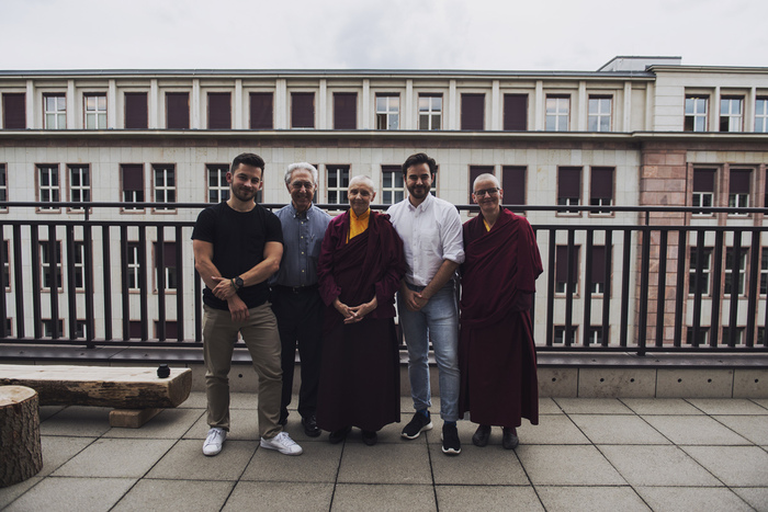 Yura Milyutin, Dr. Berzin, Jetsunma Tenzin Palmo, Matt Linden, Aileen Barry