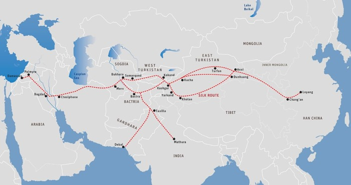 Map 7: The Silk Route